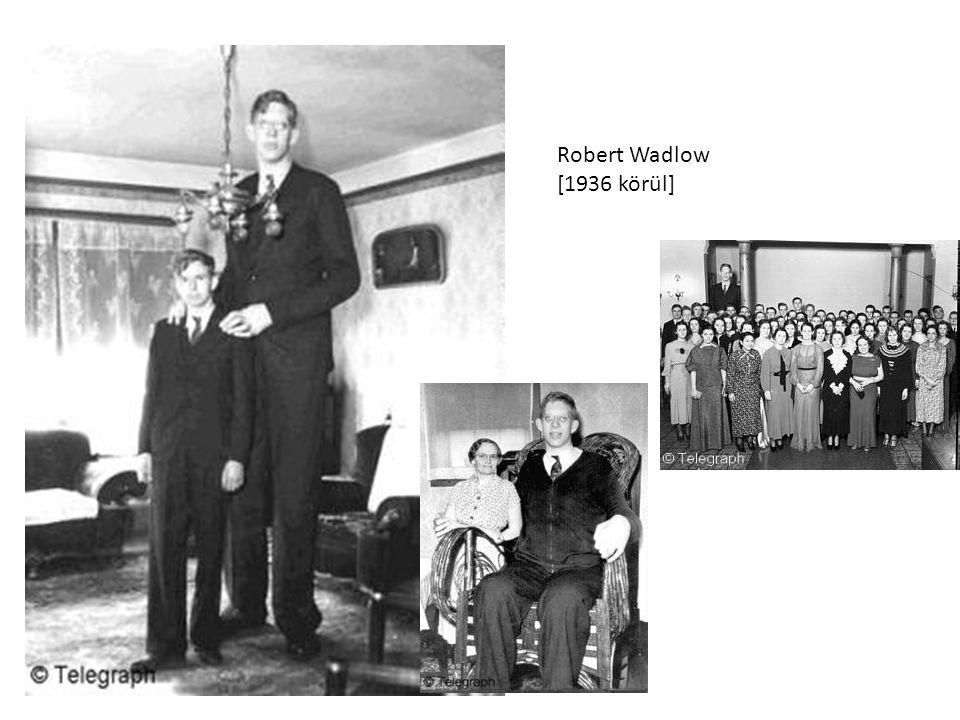 Robert Wadlow [1936 körül]